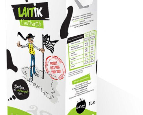 brique de lait écrémé Laitik l'Authentik