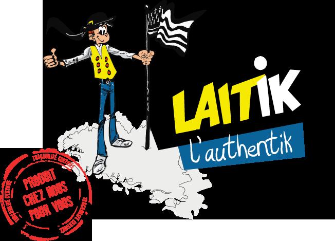 Logo Laitik L'Authentik